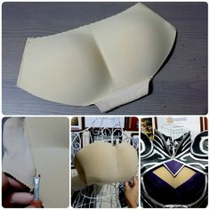 """angelusworld: """"Tutorial on Fake boobs. You know those Padded Panties or Butt Enhancers that is selling in the stores. you can make fake boobs out of it for window boob armor or costume. I using my Syndra armour as an example on this """"boob""""..."""