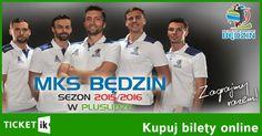 Karnety MKS Będzin sezon 2015/16 dostępne w sprzedaży online. Nie zwlekaj zamów: http://ticketik.pl/#!/Wydarzenie/74 Karnety już od 150 PLN