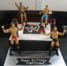 wwe birthday cake | Cakes By Perla: WWE Cake// I want to make this for Alex;s 9th birthday. I think he would be sooo excited to have this cake.