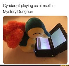 Cyndaquil playing as himself in Mystery Dungeon - iFunny :) Pokemon Dungeon, Pokemon Comics, Pokemon Funny, Pokemon Memes, Pokemon Go, Pokemon Stuff, Nintendo Pokemon, Pokemon Games List, Pokemon Pokemon