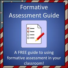 Want to learn more about formative assessment?  This FREE product explains what formative assessment is, the difference between formal and informal formative assessment, and gives a few examples of formative assessment you can use in your classroom!