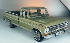 We Love Ford's, Past, Present And Future.: 1970-1979 Ford Trucks