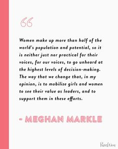 16 Meghan Markle Quotes About Work, Feminism and Staying True to Yourself family markle British Royal Family Tree, Royal Family Trees, Work Quotes, True Quotes, Meghan Markle Style, Morning Prayers, The Way You Are, Take Care Of Me, Be True To Yourself