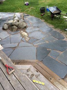 Backyard, Patio, Go Outside, Fountain, Pergola, Sidewalk, Outdoor Decor, Flowers, Handmade