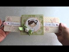 YouTube Scrapbook Cards, Scrapbooking, Box Packaging, Recipe Box, Girly, Stamps, Craft, Youtube, Crates