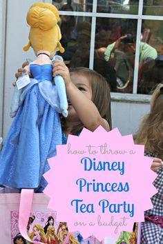 How to throw a Disney Princess Tea Party on a Budget