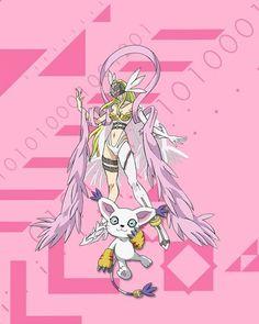 From champion to ultimate Pokemon Vs Digimon, Digimon Wallpaper, Gatomon, Digimon Tamers, Digimon Digital Monsters, Digimon Adventure Tri, Angel And Devil, Story Arc, Otaku