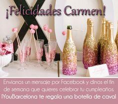 ¡Felicidades Carmen! #YouBarcelona
