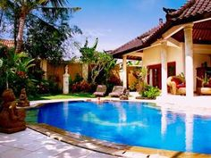 The beautiful Bali Emerald Villas in Sanur