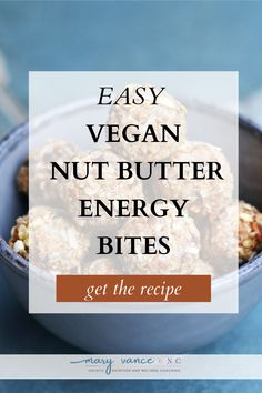 These are great for kids and are super packed with yummy oats, coconut oil, almond butter and more! Plus, they are gluten free, vegan and mostly sugar free. If you are looking for a great after school snack this is perfect to have on hand all year round! Head over to my blog to get the recipe! I vegan energy bites I gluten free energy bites I nut butter energy bites I gluten free snacks I vegan snacks I