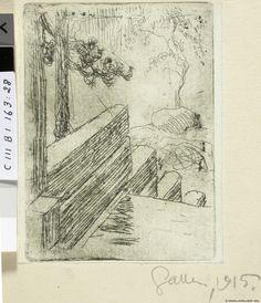 Eteläportaat talvella (Kalela 1897) 1915