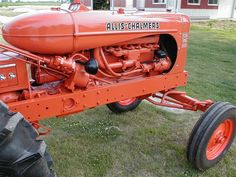 Allis Chalmers--my Grandpa loves Allis's. :) I guess I do too.