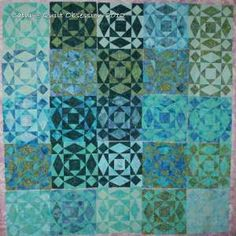 @Sharon Janssen - you can make me a storm at sea in these colors!  from Quilt Obsession