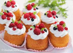 Limoncello, Cheesecake, Cupcakes, Sweets, Desserts, Kitchen, Italian Pastries, Recipes, Fruit