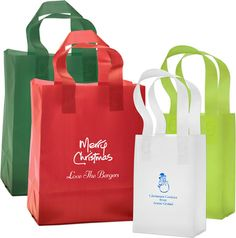 Create Your Own Frosted Bags