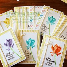 Bags That One! Lotus Blossom Stampin Up!