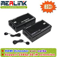 HDMI Extender Over Cat5e/6 with IR Extension, 3D (YLE60R)