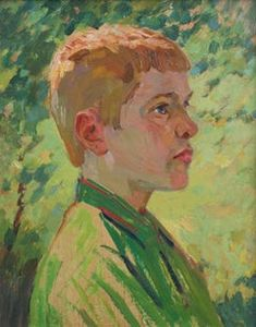 Unknown - Portrait of a Red Headed Boy - Painting Ideas Simple Oil Painting, Hair Painting, Figure Painting, Red Head Boy, Oil Portrait, Painting Portraits, Oil Paintings, Easy Landscape Paintings, Mountain Paintings