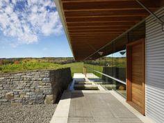 corrugated iron, stone and timber ian macdonald architect