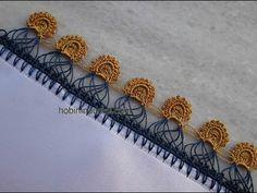 Örümcek Sıralı İplik Oyası - YouTube Knitted Shawls, Knitted Poncho, Throat Lozenge, Knit Shoes, Sweater Design, Knitting Socks, Hand Embroidery, Knit Crochet, Crochet Necklace