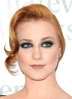 evan rachel wood updo - Google Search