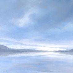 Misty evening, Loch Torridon Charina Beswick