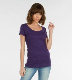 Sophie Scoop Neck #organic #cotton #essential #tees #sustainable #recycled