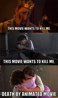 Basically my thoughts the first time I watched Tangled. :P
