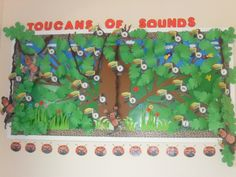 Toucans of Sounds Phonics classroom display photo - SparkleBox