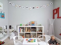 Love it! A Playroom Where Kids Can Learn AND Have Fun at the Same Time! | The…