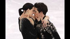 Tessa Virtue and Scott Moir of Canada compete in the Figure Skating Team Event - Ice Dance - Short Dance on day two of the PyeongChang 2018 Winter Olympic Games at Gangneung Ice Arena on February 2018 in Gangneung, South Korea. Virtue And Moir, Tessa Virtue Scott Moir, Qi Gong, 2018 Winter Olympic Games, Tessa And Scott, Pyeongchang 2018 Winter Olympics, Team Events, Dance Shorts, Ice Dance