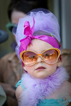 LOVE Her Style!!! This will be my little girl someday!!