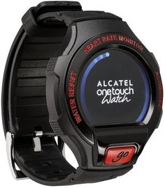 Alcatel Go Watch Black & Dark Red Smartwatch on November 12 2016. Check details and Buy Online, through PaisaOne.