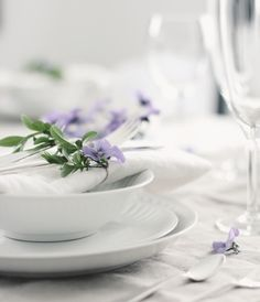 crispy white with a lovely purple touch