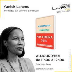 Rencontre avec Yanick Lahens au #SDL2015