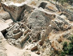 The stepped-stone structure, the largest Iron Age structure in Israel, covers the northeastern slope of the City of David with a mantle of walls and terraces. So massive an edifice must have supported an imposing structure above it. Many believed that structure was Jerusalem's fortress; Mazar suggests that the area just to the north, which she believes was the site of David's palace, would have been adjacent to the fortress.