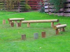 Cool ideas, but pretty pricey for stumps and logs IMHO! Educational Play - Activity & Agility Trails - Page 1 - Caledonia Play