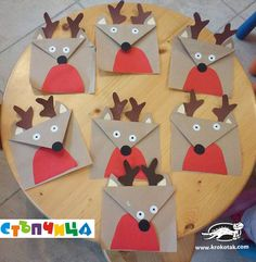 paper deer for toddlers
