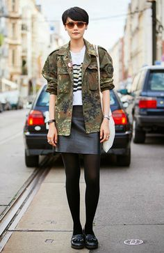 5 Chic Ways to Pull Off the Military Trend This Season From Pinterest