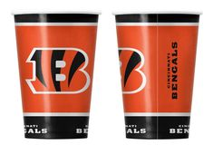 Cincinnati Bengals Paper Cups Disposable Special Order