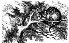 Alice In Wonderland Wall Art - Drawing - Cheshire Cat Smiling by John Tenniel Alice In Wonderland Original, White Rabbit Alice In Wonderland, Alice In Wonderland Print, Alice In Wonderland Illustrations, Alice In Wonderland Characters, Adventures In Wonderland, Lewis Carroll, Cheshire Cat Smile, Chesire Cat