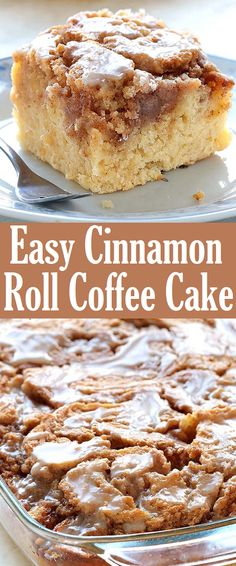 Easy Cinnamon Roll Coffee Cake Recipe Easy Cinnamon Roll Coffee Cake Recipe - Happy Cooking , In the food recipe that you read this time with the title Easy. Get this Beautiful Cinnamon Roll Coffee Cake Recipe Easy Cinnamon Roll Coffee Cake Recipe Dessert Simple, Simple Dessert Recipes, Easy Desert Recipes, Quick Dessert, Cinnamon Desserts, Easy Desserts, Cinnamon Coffee Cakes, Fall Deserts Recipes, Cinnamon Roll Recipes