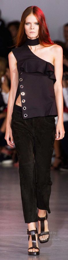 Costume National Collection Spring 2015 Ready-to-Wear - pin courtesy of James Mitchell