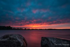 The Water is Aglow in Shirley's Bay by Tim Watts on 500px