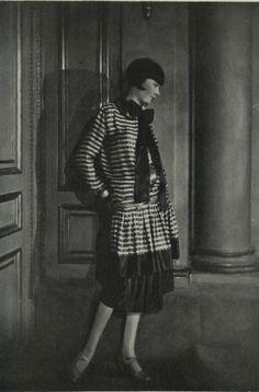 Lucien Lelong model, 1920s