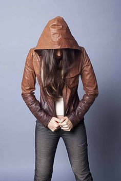 Q40 Ombre Leather Jacket: The go-to bomber with a little something special