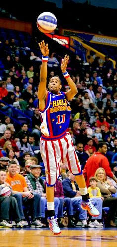 HARLEM GLOBETROTTERS...I've seen this multiple times with multiple children...boys and girls love it!