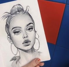 New Drawing Art Pencil Inspiration 34 Ideas Pencil Art Drawings, Art Drawings Sketches, Realistic Drawings, Cool Drawings, Drawing Faces, Graphite Drawings, Inka Williams, Arte Sketchbook, Face Sketch