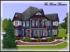 The Morris Victorian Mansion by Judy Sims - Sims 3 Downloads CC Caboodle