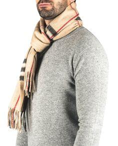 Kaschmir Schal kariert camel front Men Sweater, Sweaters, Fashion, Cashmere, Scarves, Moda, Fashion Styles, Men's Knits, Sweater